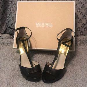 Brenna t strap MK heels